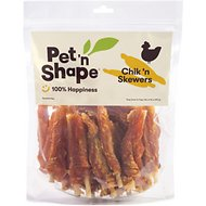Pet 'n Shape Chik 'n Skewers Dog Treats, 2-lb tub
