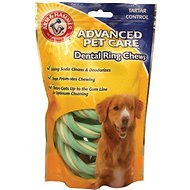 Arm & Hammer Dental Advanced Care Dental Ring Chews Dog Treats, 5-count