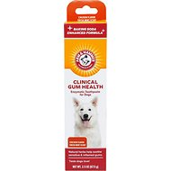 Arm & Hammer Dental Clinical Care Maximum Strength Gum Care Toothpaste for Dogs, 2.5-oz tube