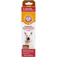 Arm & Hammer Dental Clinical Care Maximum Strength Plaque Cleaning Toothpaste for Dogs, 2.5-oz tube