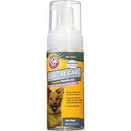 Arm & Hammer Dental Clinical Care Maximum Strength Daily Cleaning Foam for Dogs, 4.5-oz bottle