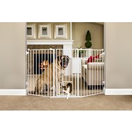 Carlson Pet Products Flexi Extra Tall Walk-Thru Gate with Pet Door