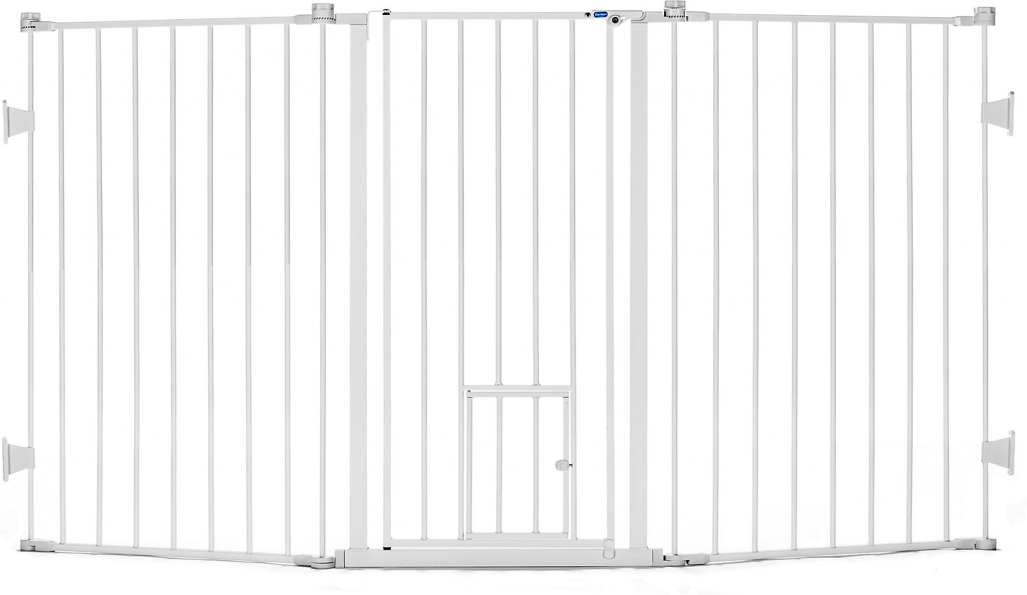 Carlson Pet Products Flexi Extra Tall Walk Thru Gate With
