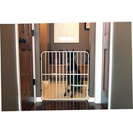 Carlson Pet Products Extra Tall Big Tuffy Expandable Gate with Pet Door