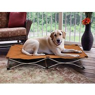 Carlson Pet Products Portable Pup Travel Pet Bed, Tan, Large