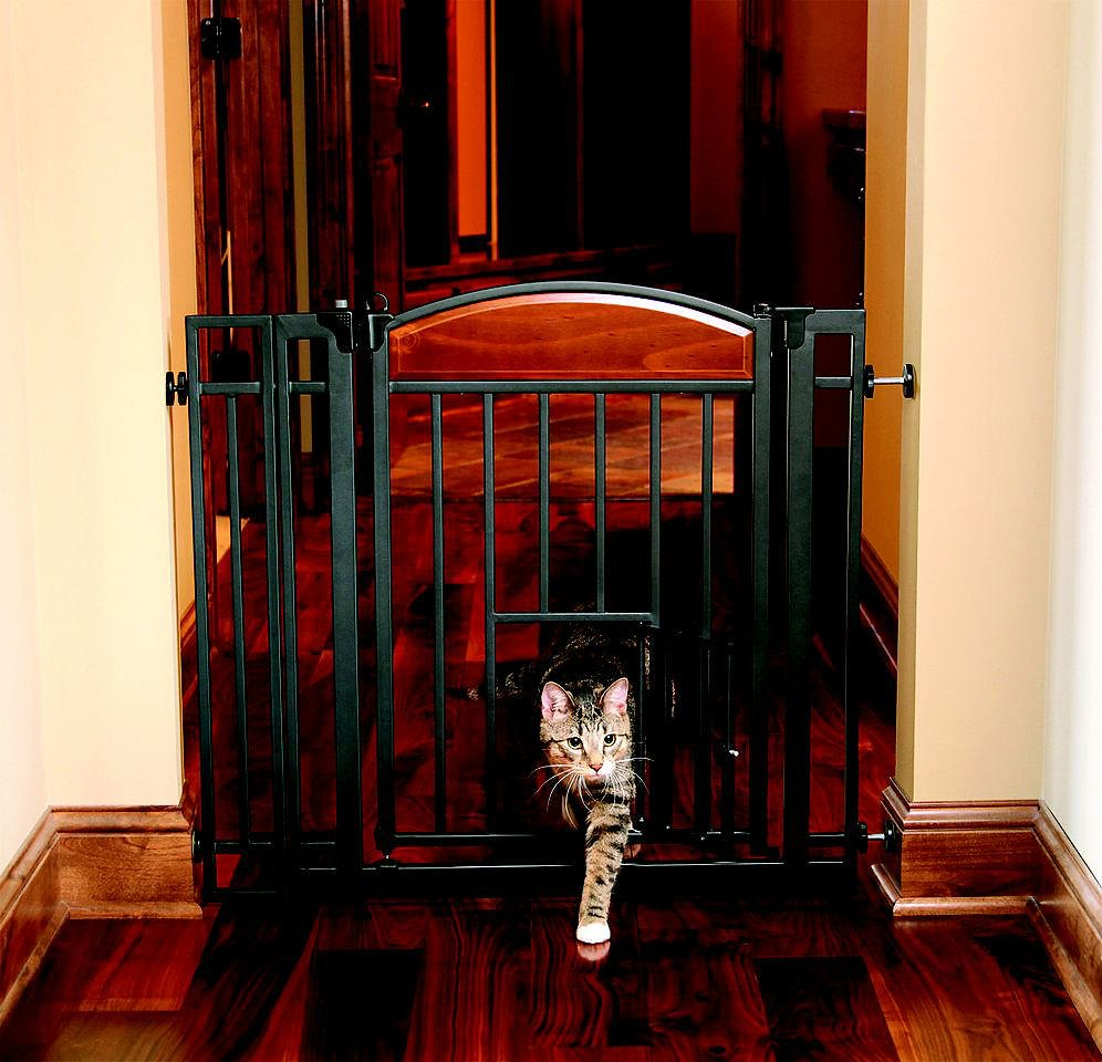 Carlson Pet Products Design Studio Metal Walk Thru Gate