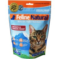 Feline Natural Chicken & Venison Feast Raw Grain-Free Freeze-Dried Cat Food, 0.28-lb bag