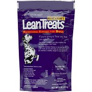 NutriSentials Lean Treats Nutritional Dog Treats, Case of 10