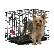 MidWest Life Stages A.C.E Double Door Dog Crate, 18-inch