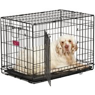 MidWest Life Stages A.C.E Double Door Dog Crate, 30-in
