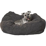 K&H Pet Products Cuddle Cube Pet Bed, Grey, Small