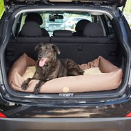 K&H Pet Products Travel & SUV Pet Bed, Tan, Large