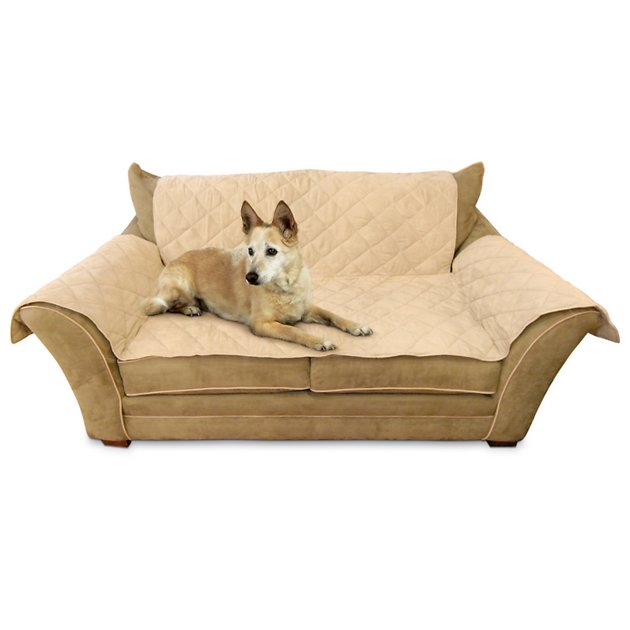 K H Pet Products Furniture Cover For Loveseats Tan Chewy Com