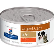 Hill's Prescription Diet a/d Urgent Care with Chicken Canned Dog & Cat Food, 5.5-oz, case of 24