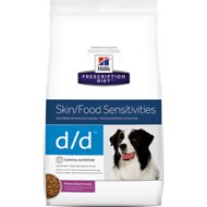 Hill's Prescription Diet d/d Canine Skin Support Potato & Duck Dry Dog Food, 17.6-lb bag