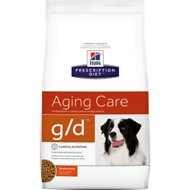 Hill's Prescription Diet g/d Aging Care Chicken Flavor Dry Dog Food, 8.5-lb bag