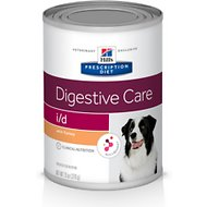 Hill's Prescription Diet i/d Digestive Care with Turkey Canned Dog Food, 13-oz, case of 12