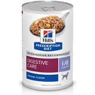 Hill's Prescription Diet i/d Digestive Care Low Fat Original Flavor Pate Canned Dog Food