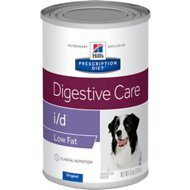 Hill's Prescription Diet i/d Digestive Care Original Low Fat Canned Dog Food, 13-oz, case of 12