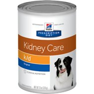Hill's Prescription Diet k/d Kidney Care Original Canned Dog Food, 13-oz, case of 12