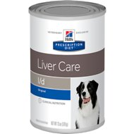 Hill's Prescription Diet l/d Liver Care Original Canned Dog Food, 13-oz, case of 12