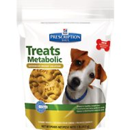 Hill's Prescription Diet Metabolic Canine Dog Treats, 16-oz bag