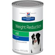 Hill's Prescription Diet r/d Weight Reduction Original Canned Dog Food, 12.3-oz, case of 12