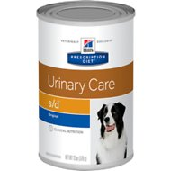 Hill's Prescription Diet s/d Urinary Care Original Canned Dog Food, 13-oz, case of 12