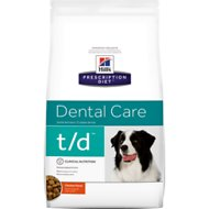 Hill's Prescription Diet t/d Dental Care Chicken Flavor Dry Dog Food, 5-lb bag