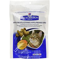 Hill's Prescription Diet Feline Hypo-Treats Cat Treats, 2.5-oz bag (Original)