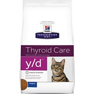 Hill's Prescription Diet y/d Thyroid Care Original Dry Cat Food, 8.5-lb bag