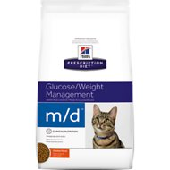 Hill's Prescription Diet m/d Glucose/Weight Management Chicken Flavor Dry Cat Food, 8.5-lb bag