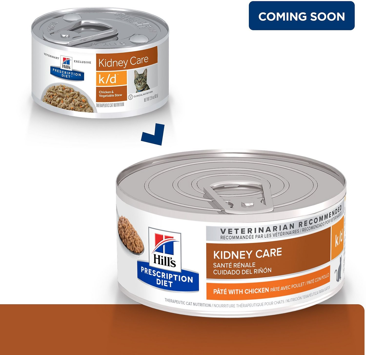 Hill S Prescription T K D Kidney Care With En Canned Cat Food 5 Oz Case Of 24 Chewy