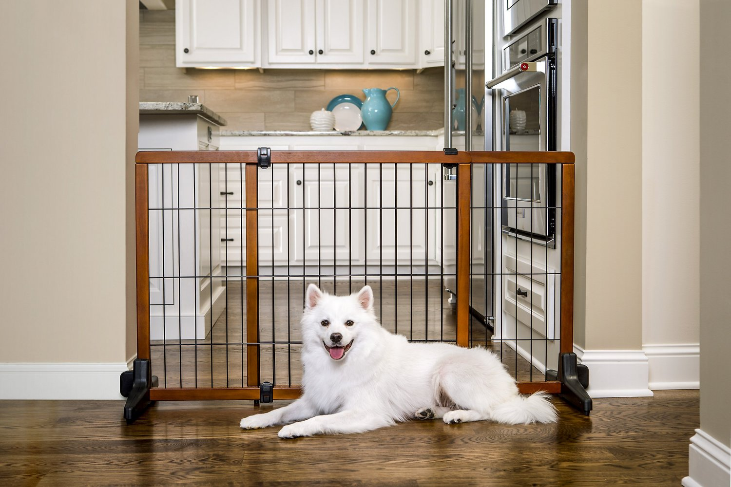 Carlson Pet Products Design Studio Freestanding Extra Wide