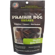 Prairie Dog Chicken Jerky Bites Dog Treats, 4-oz bag
