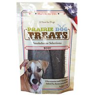 Prairie Dog Smokehouse Selections Beef Jerky Strips Dog Treats, 4-oz bag