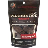 Prairie Dog Beef Jerky Bites Dog Treats, 4-oz bag