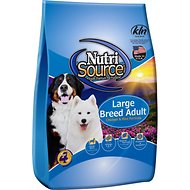 NutriSource Large Breed Adult Chicken & Rice Formula Dry Dog Food, 33-lb bag