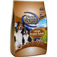NutriSource Large Breed Adult Lamb Meal & Rice Formula Dry Dog Food, 33-lb bag