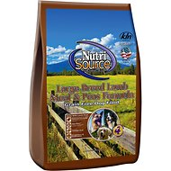 NutriSource Grain-Free Large Breed Adult Lamb Meal Formula Dry Dog Food, 30-lb bag