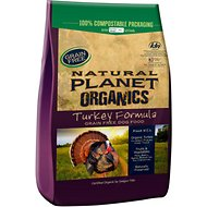 Natural Planet Grain-Free Turkey Formula Dry Dog Food, 15-lb bag