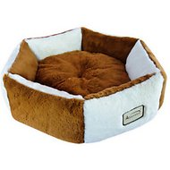 Armarkat Pet Bed, Brown/Ivory