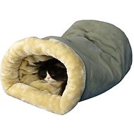 Armarkat Burrow Cat Bed, Sage Green/Beige