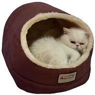 Armarkat Pet Bed Cave Shape, Red/Beige