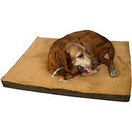 Armarkat Memory Foam Orthopedic Pet Bed, Mocha/Brown, Small