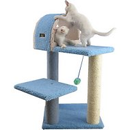 Armarkat 30-inch Cat Tree, Sky Blue