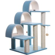 Armarkat 38-in Cat Tree, Sky Blue