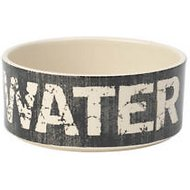 PetRageous Designs Vintage Water Pet Bowl, 3.5 cup