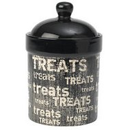 PetRageous Designs Vintage Pet Treat Jar, Treat Jar, 9-inch tall