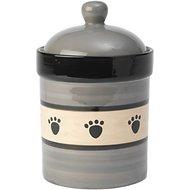 PetRageous Designs Metro Pet Treat Jar, Treat Jar, 9-inch tall